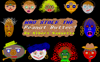 Screenshot of Who Stole the Peanut Butter