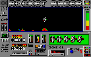 Thumbnail of other screenshot of Rocket Racer