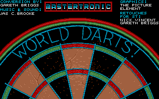 Large screenshot of World Darts