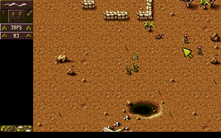Screenshot of Cannon Fodder 2