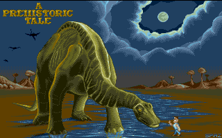 Thumbnail of other screenshot of Prehistoric Tale, A