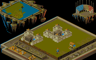Thumbnail of other screenshot of Populous II: Trials Of The Olympian Gods