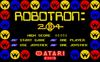 Thumbnail of other screenshot of Robotron: 2084