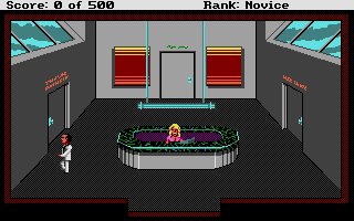 Screenshot of Leisure Suit Larry 2 - Goes Looking for Love (In Several Wrong Places)