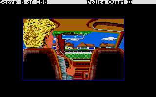 Screenshot of Police Quest 2 - The Vengeance