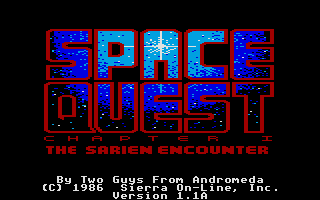 Thumbnail of other screenshot of Space Quest - Roger Wilco in the Sarien Encounter