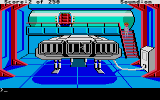 Thumbnail of other screenshot of Space Quest II - Vohaul's Revenge