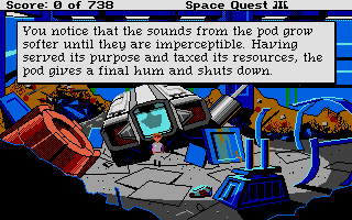 Thumbnail of other screenshot of Space Quest III - The Pirates Of Pestulon