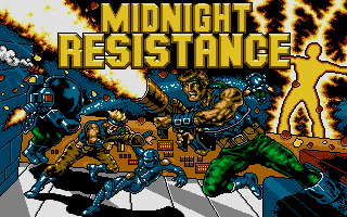Screenshot of Midnight Resistance