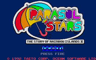 Screenshot of Parasol Stars