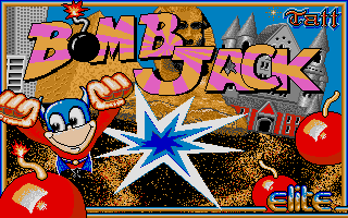 Screenshot of Bomb Jack