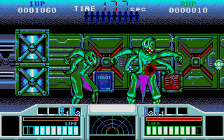 Screenshot of Space Gun
