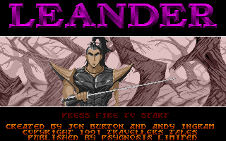 Screenshot of Leander