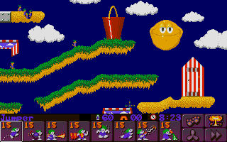 Screenshot of Lemmings 2 - The Tribes