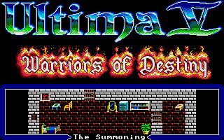 Screenshot of Ultima V - Warriors of Destiny