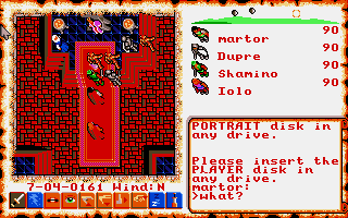 Thumbnail of other screenshot of Ultima VI - The False Prophet
