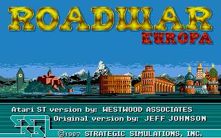 Thumbnail of other screenshot of Roadwar Europa