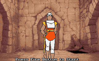 Large screenshot of Dragon's Lair 4 - Escape from singe's Castle