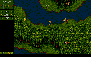 Screenshot of Cannon Fodder