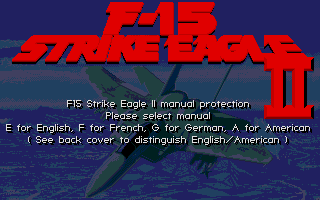 Thumbnail of other screenshot of F-15 Strike Eagle 2