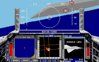 Screenshot of F-15 Strike Eagle 2