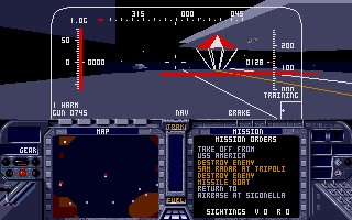 Screenshot of F-19 Stealth Fighter