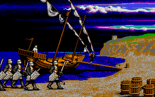 Screenshot of Vengeance of Excalibur