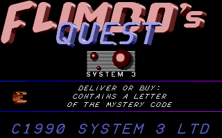 Thumbnail of other screenshot of Flimbo's Quest