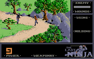 Screenshot of Last Ninja, The