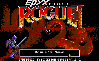 Screenshot of Rogue