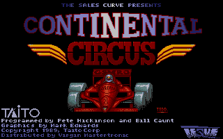 Thumbnail of other screenshot of Continental Circus