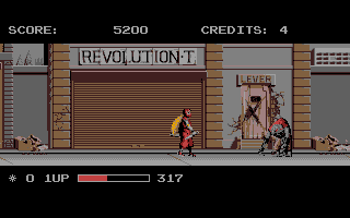 Screenshot of Ninja Warriors
