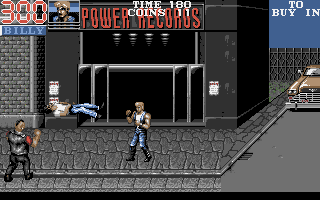 Large screenshot of Double Dragon 3 The Rosetta Stone