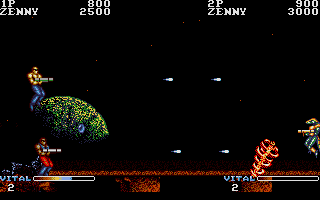 Screenshot of Forgotten Worlds
