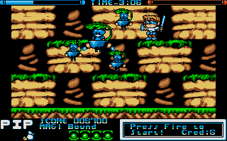 Screenshot of Mega Twins