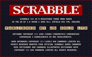 Screenshot of Scrabble