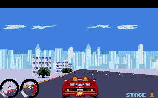 Screenshot of Turbo OutRun