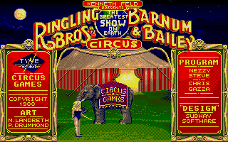 Thumbnail of other screenshot of Circus Games