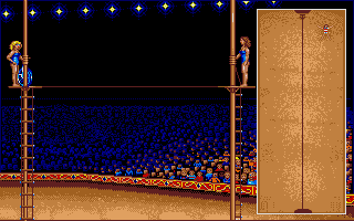 Large screenshot of Circus Games