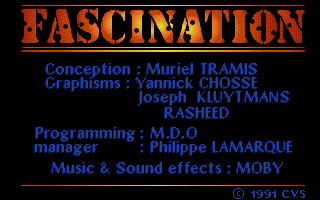 Screenshot of Fascination