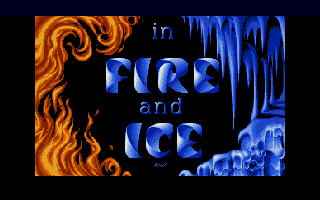 Screenshot of Fire and Ice