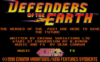 Thumbnail of other screenshot of Defenders of the Earth