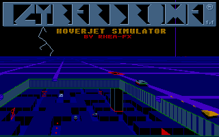 Thumbnail of other screenshot of Cyberdrome - Hoverjet Simulator
