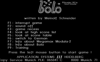 Thumbnail of other screenshot of Bolo