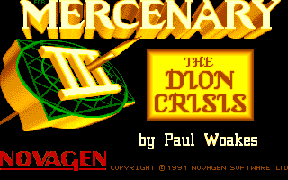 Thumbnail of other screenshot of Mercenary 3 - The Dion Crisis