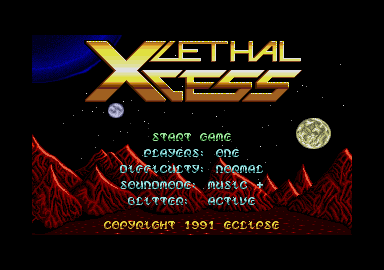 Thumbnail of other screenshot of Lethal Xcess