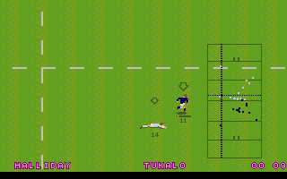 Screenshot of World Class Rugby - Five Nations Edition
