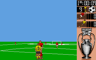 Screenshot of I Play 3-D Soccer