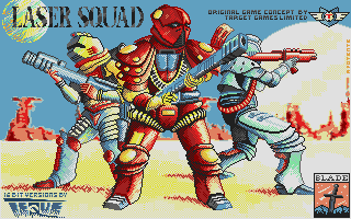 Screenshot of Laser Squad