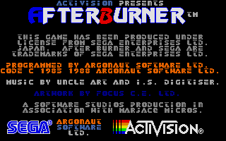 Thumbnail of other screenshot of Afterburner
